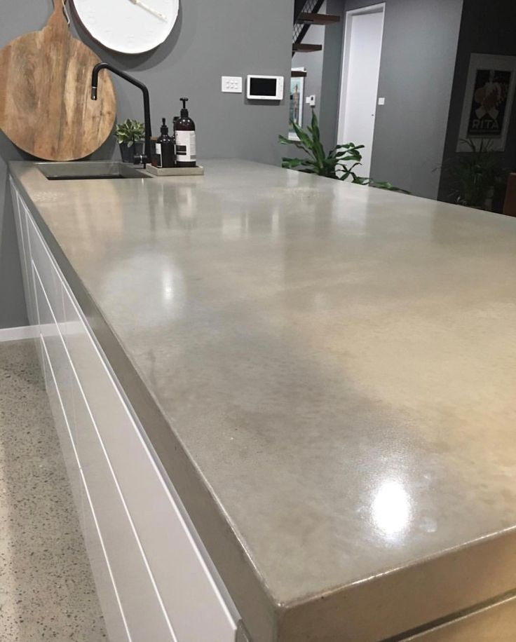 Best 25+ Polished Concrete Countertops Ideas On Pinterest