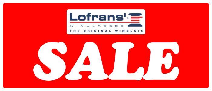 Lofrans Windlass Sale