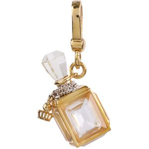 Juicy Couture Fragrance Bottle Charm. It would look super cute on my juicy charm bracelet (: