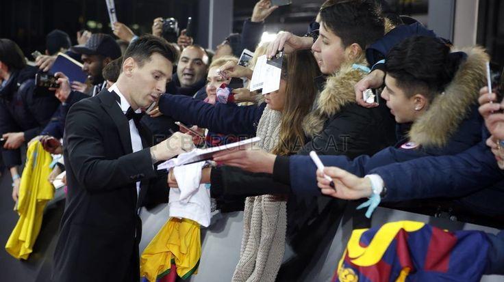 Gala del Balón de Oro 2015 | FC Barcelona