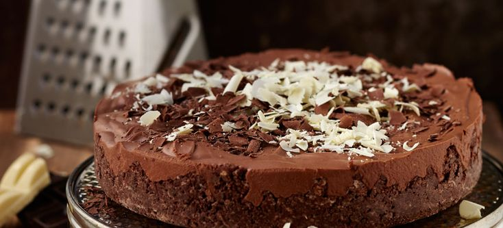 Syntisen suklainen Marianne-kakku - Fazer