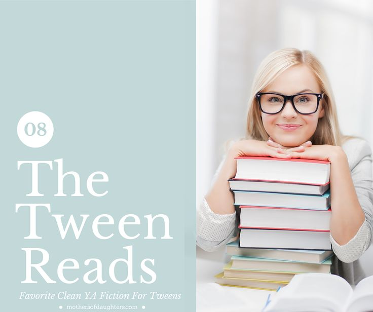 """Recently a few friends asked me for some recommendations for some good young adult novels for teen and tween that were also clean. I realize that as the mother of a three year old I am an odd choice for recommending teen lit but I legit love the young adult... <a href=""""http://mothersofdaughters.com/5-favorite-ya-fiction-reads-for-tweens/"""">Read More →</a>"""