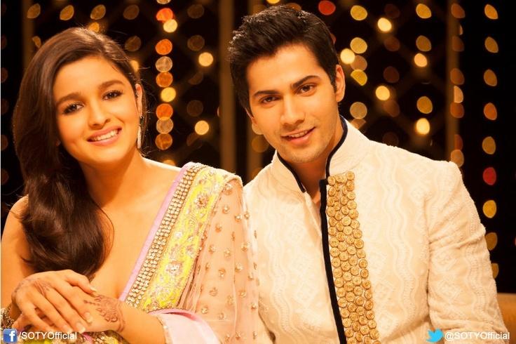 Alia Bhatt and Varun Dhawan in SOTY <3