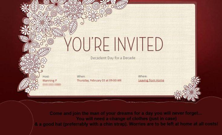 Wedding Invitation Wording: 1st Wedding Anniversary Invitation ...