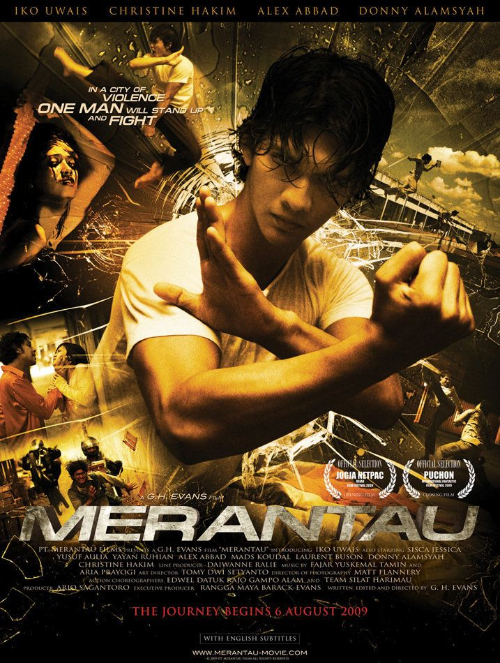 Merantau: One of the earlier movies of Iko Uwais - the hero of The Raid:  Redemption, which made him famous. The movie is a little slow but the pace  and the ...