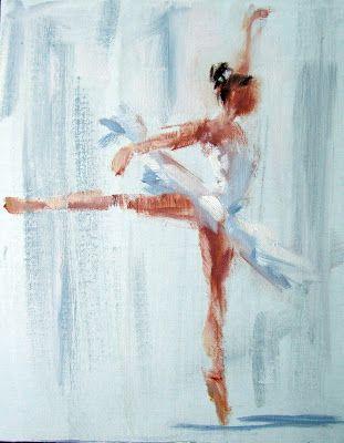 Ballerina   Gina Brown Art  oil painting original
