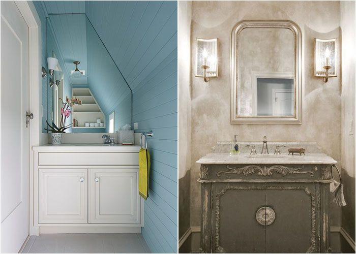 Интерьер туалетной комнаты от Thomas Rex Hardy, AIA и JD Smith Custom Homes