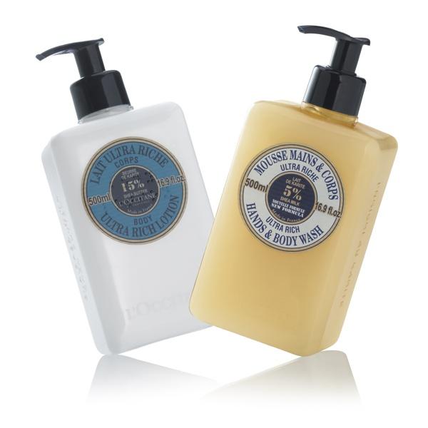 L`Occitane - Nourishing Shea Butter Gift Set. #skincare