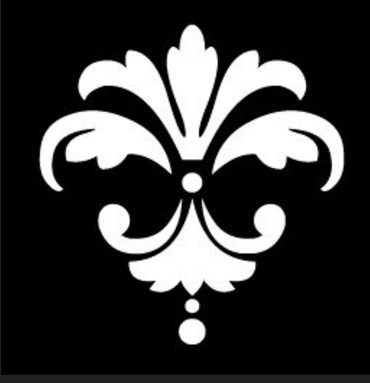 simple damask pattern - 736×761