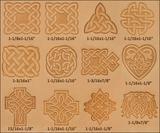 Raznice do kůže - set Keltské symboly