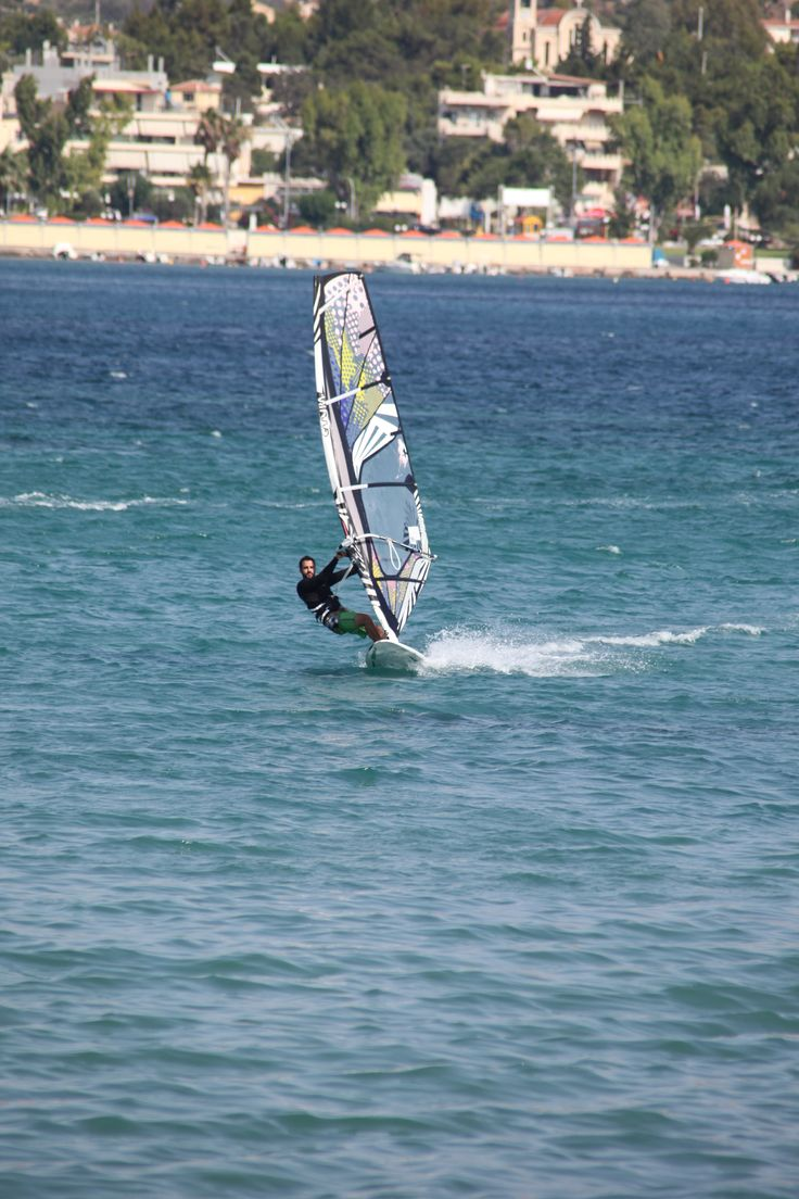 a day dedicated to summer at Kouros Beach (Anavissos) ! we had an amazing time !!!! WINDSURFING !!!