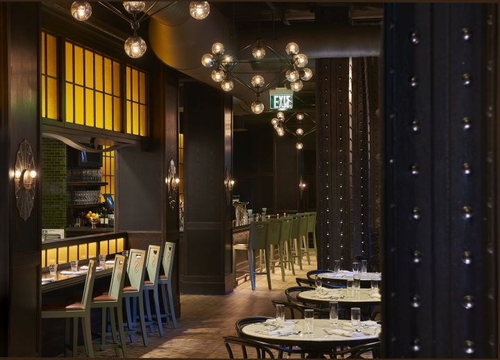 The Commoner Restaurant Bar By MARKZEFF Pittsburgh Pennsylvania Retail Design Blog