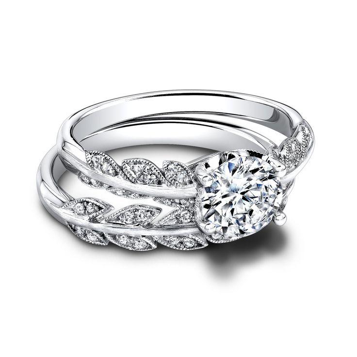 this engagement wedding ring combo wedding