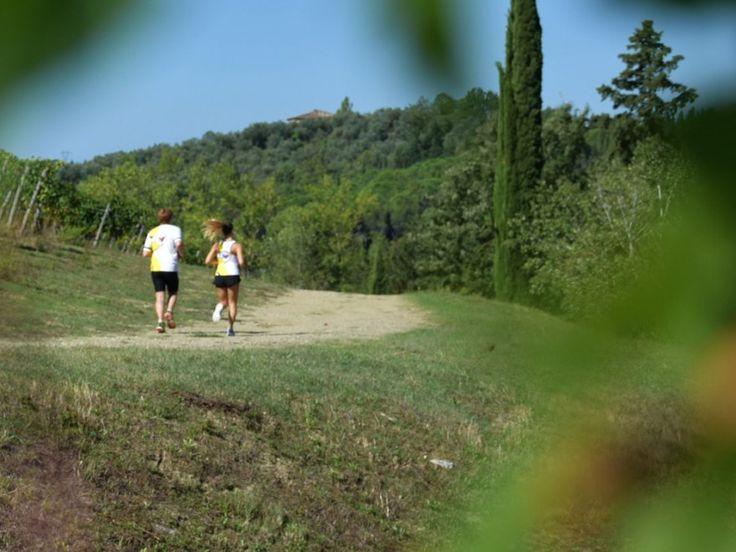 Correre tra le bellezze del Chianti: ora c'è la Ecomarathon