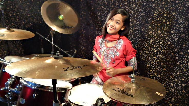 Chori Chori Sapnon Mein - Drum Cover by Nur Amira Syahira