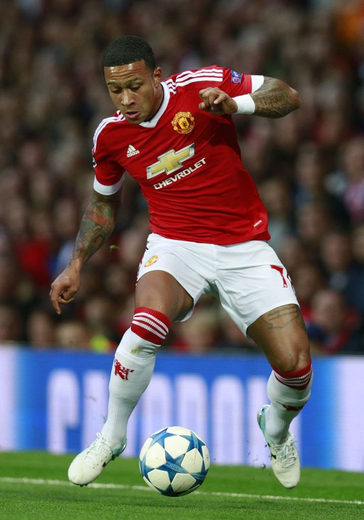 Memphis Depay of Manchester United