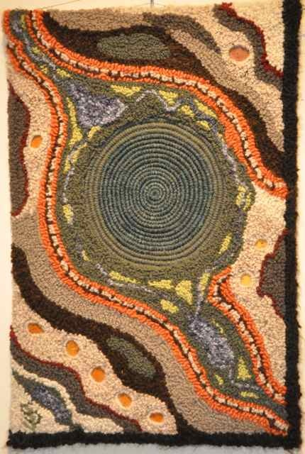 Australian Landscape by Judy Stephens from Gene's Rug Hooking