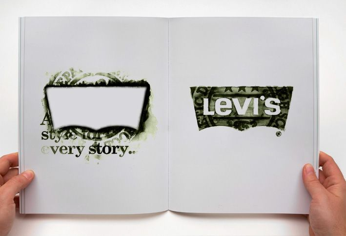 Levi Strauss Company - Levi's  Graphisme textile, communication global.