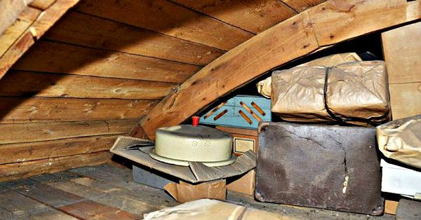He Found Some Hidden Shelves In The Attic That Revealed A 70-Year-Old Family Secret!