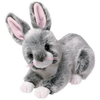 Ty - Coniglietto di peluche Winksy, colore grigio, rarità, 17,8 cm EURO 16,47