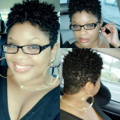 Tapered Twa Haircut | Hairstyle