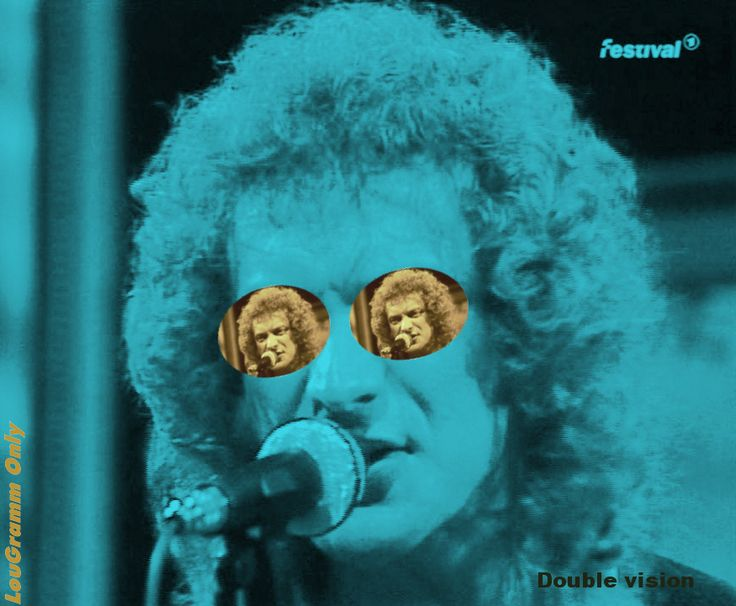 Lou Gramm  - double vision, Bananas TV Show 1982