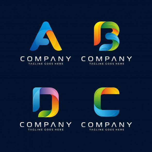 Collection Of Letter Logo Design.