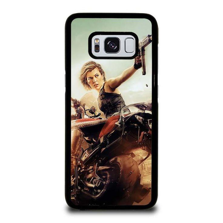 RESIDENT EVIL MILLA JOVOVICH Samsung Galaxy S3 S4 S5 S6 S6 Egde S6 Edge Plus S7 S7 Edge S8 S8 Plus Note 3 4 5 8