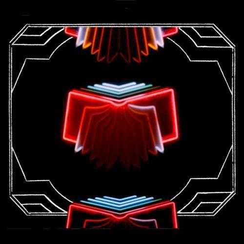 Arcade Fire.  Neon Bible Album Cover.