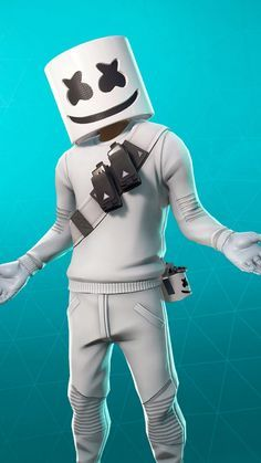 Marshmello Fortnite Skin Gaming wallpapers, Game