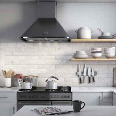 Karra Carrara 3 X 12 Ceramic Subway Tile White Subway Tile Backsplash Kitchen Tiles Subway Tile Backsplash Kitchen