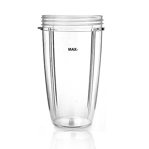 32 oz Clear Plastic Extra Large Replacement Blender Cup for use with NutriBullet Brand Accessories Only 1 Cup XLarge 32 oz -- Find out more about the great product at the image link.Note:It is affiliate link to Amazon.