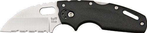 Cold Steel Tuff Lite Serrated Edge Folder Knife * See this great image @ http://www.buyoutdoorgadgets.com/cold-steel-tuff-lite-serrated-edge-folder-knife/?ab=210616210615