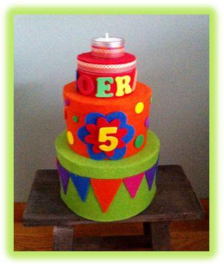 Verjaardagstaart voor in de klas | Thema FEEST