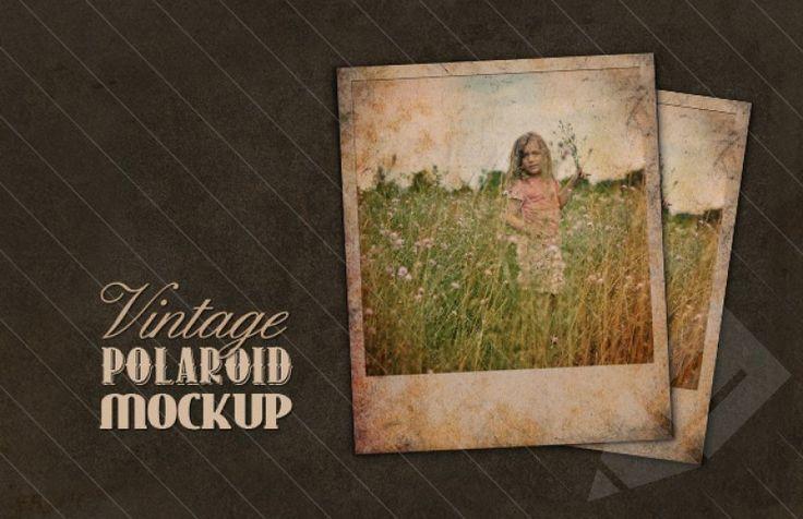 Medialoot - Vintage Polaroid Mockup