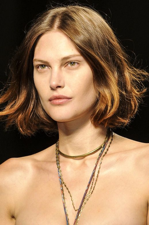 SUMMER INSPIRATION: WAVY BOB + LAYERED NECKLACE