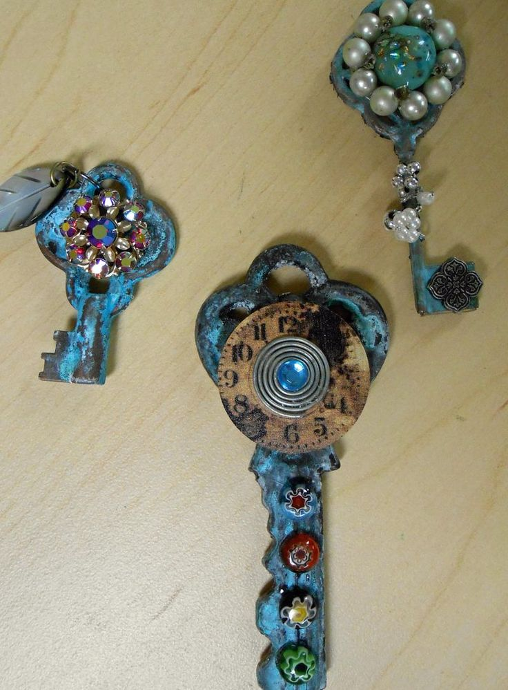 Keys - I have about a million old keys, and now I know what to do with them!