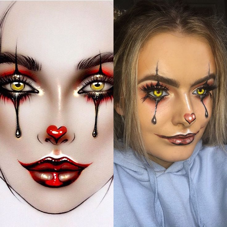 IT makeup | pennysiwse | Halloween makeup | easy Halloween makeup