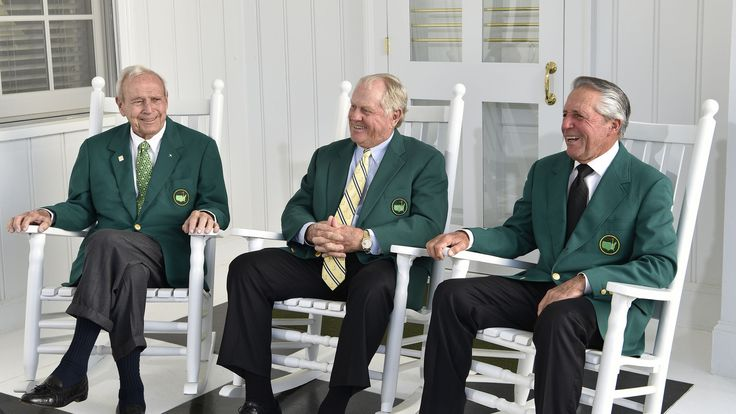 2016 Masters Tournament  Arnold Palmer, Jack Nicklaus and Gary Player