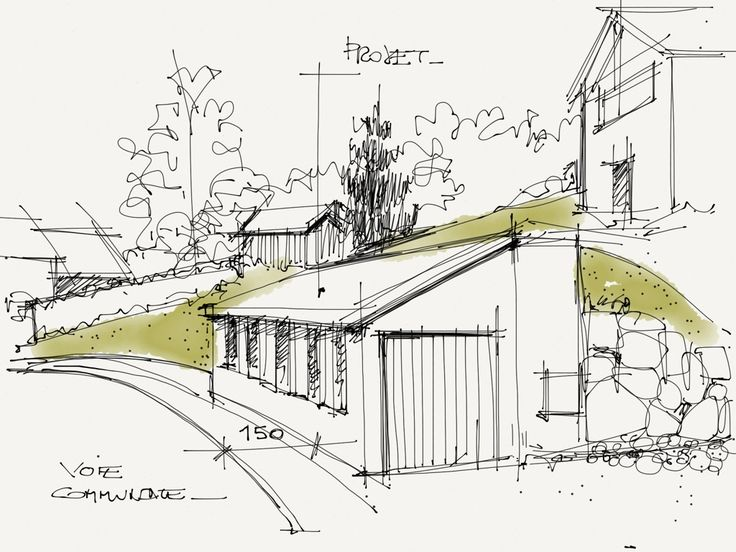 Architecture House Sketch 139 best architectural renderings images on pinterest