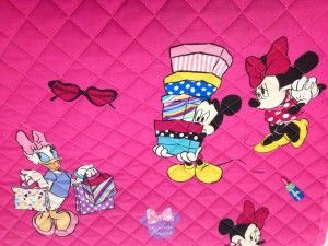 Trapunta Minnie & Daisy