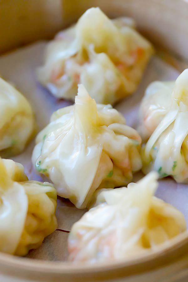 You cannot start a Chinese dinner without these shrimp wontons. Give it a try!