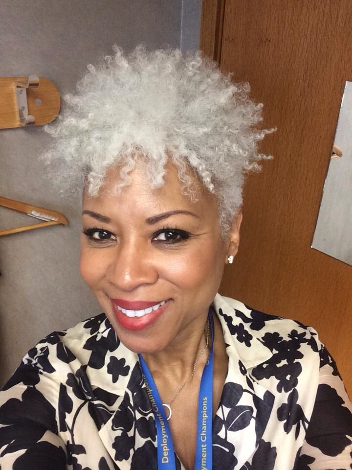 Grey Hair African American Woman: 17 Best Images About Natural Hair Women Of Color On