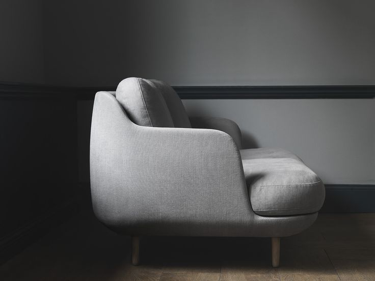 The Lune™ sofa shown from the side