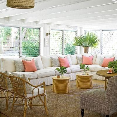 Beach Living Living Room Beach Club Coastal Living Florida Room
