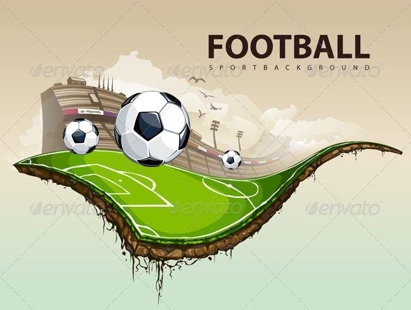 football ground vector - ค้นหาด้วย Google
