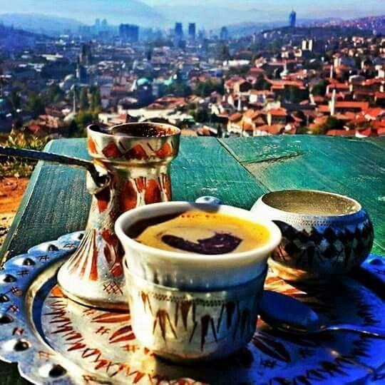 Coffee in Sarajevo