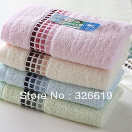 Face Towel made by 100% Bamboo Fiber and rectangle shape. Bathroom towels/ Soft towels/ Cotton Towels/ Face towels.