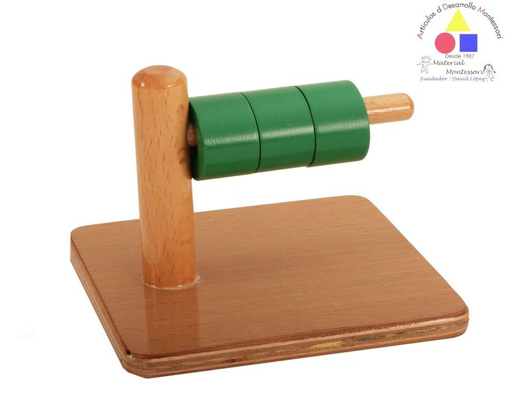 Clavija horizontal con tres aros.  Comunidad Infantil