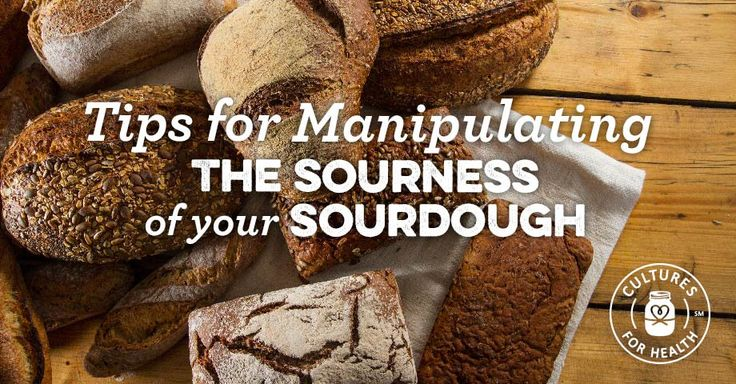 Tips For Manipulating The Sourness Of Your Sourdough